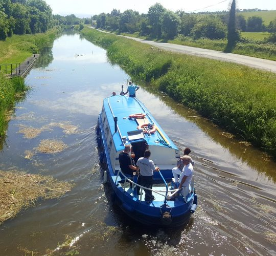 Barge trips on Ireland's Grand Canal – Kildare – Barge trips